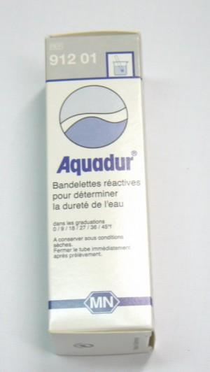 Bandelettes de TH Dureté de l'eau Aquadur - Entre2-eaux