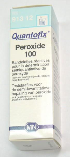 Bandelettes testeur de Peroxide - Entre2-eaux