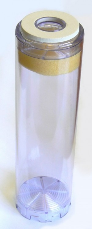 """Cartouche de filtration vide - taille 9""""¾ - Entre2-eaux"""