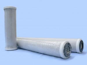 Filtre charbon actif extrudé taille 20 pouces 5 microns -Entre2eaux