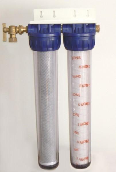 Kit Double effet de filtration taille 20 pouces - Entre2-eaux